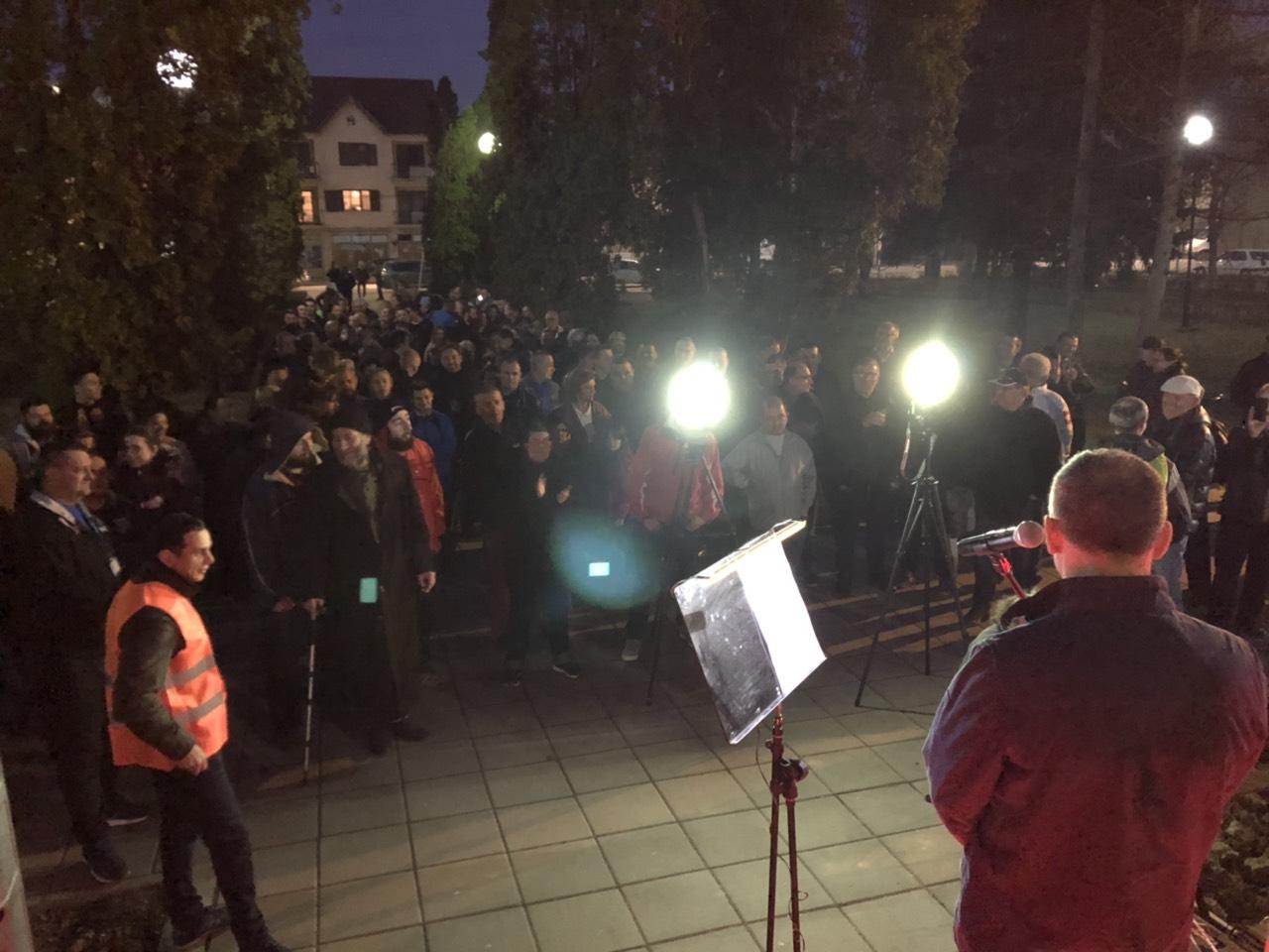 U Svrljigu održan prvi protest pod nazivom ,,Za spas Svrljiga'' 1