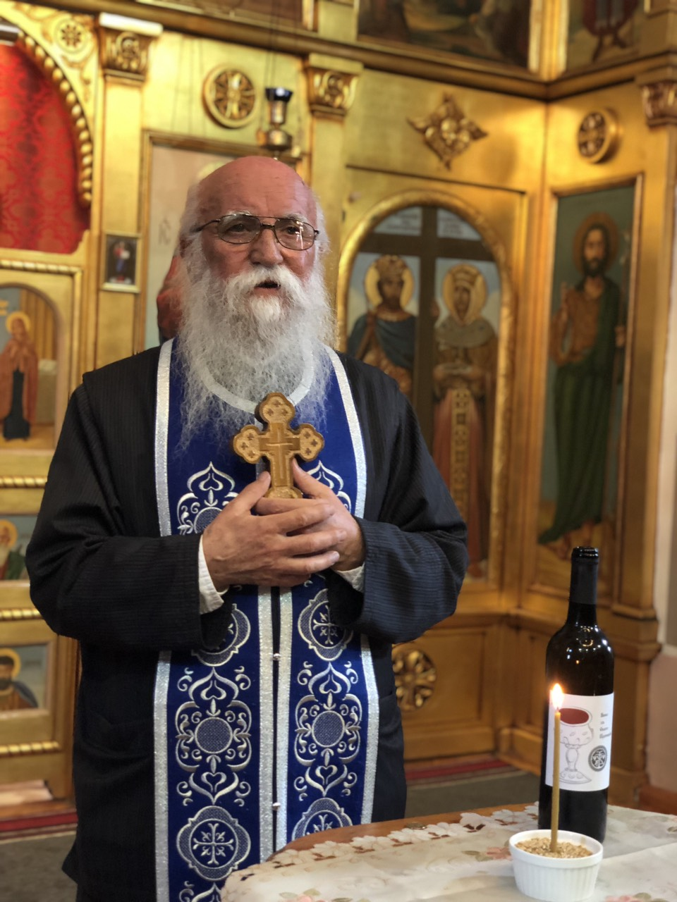 Otac Raša, foto: M.M.
