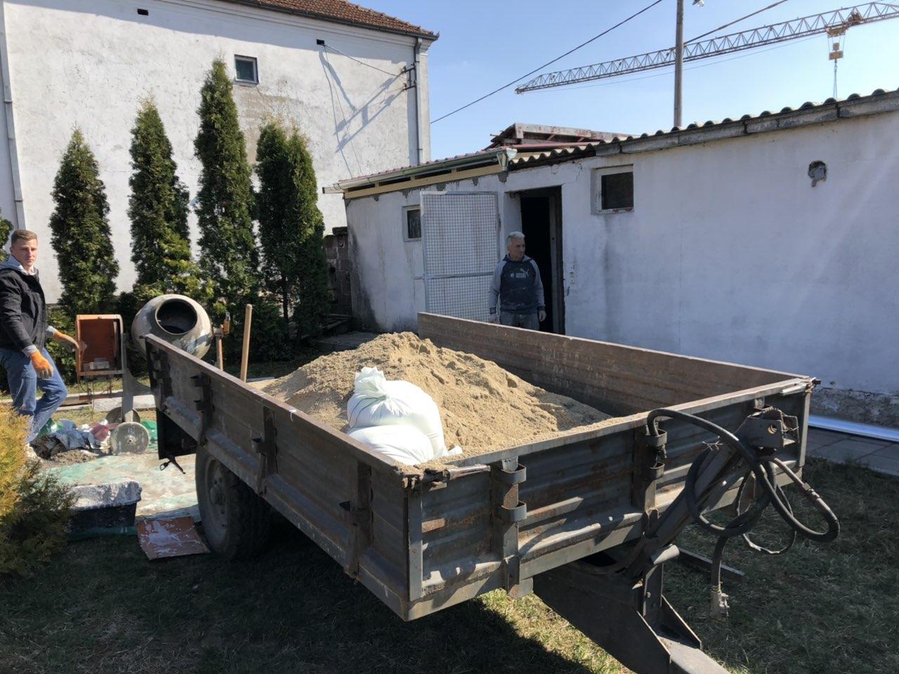 Rekonstrukcija pomoćnog objekta, foto: N.E.