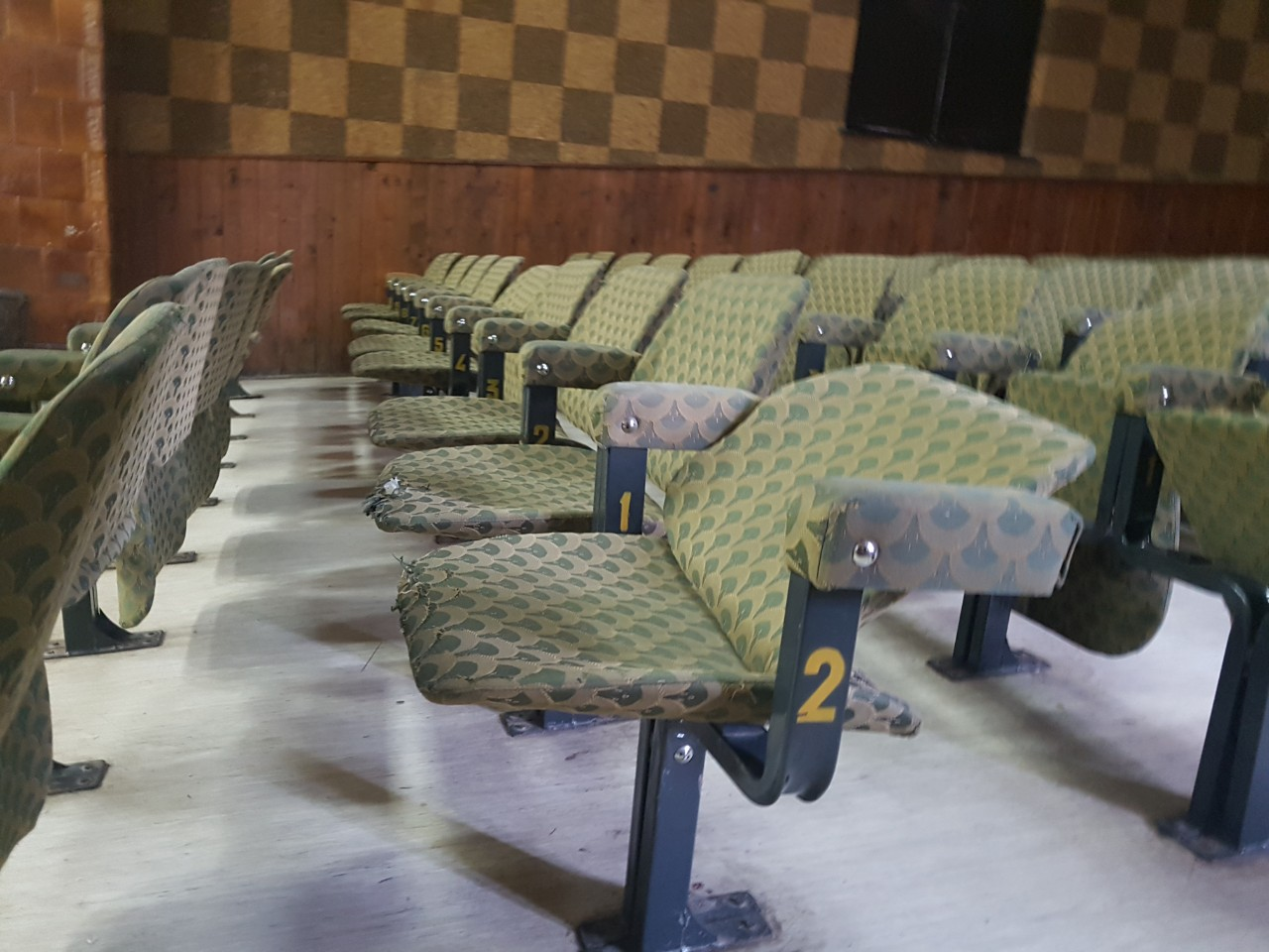 Sedišta u bioskopskoj sali, foto: M.M.