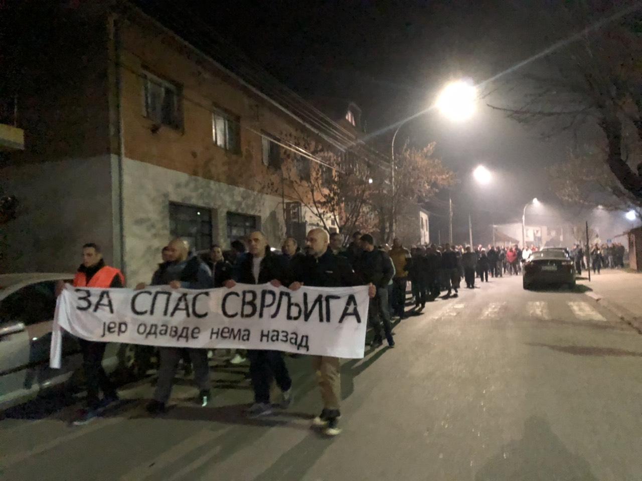 Protest ,,Za spas Svrljiga'', foto: M.M.