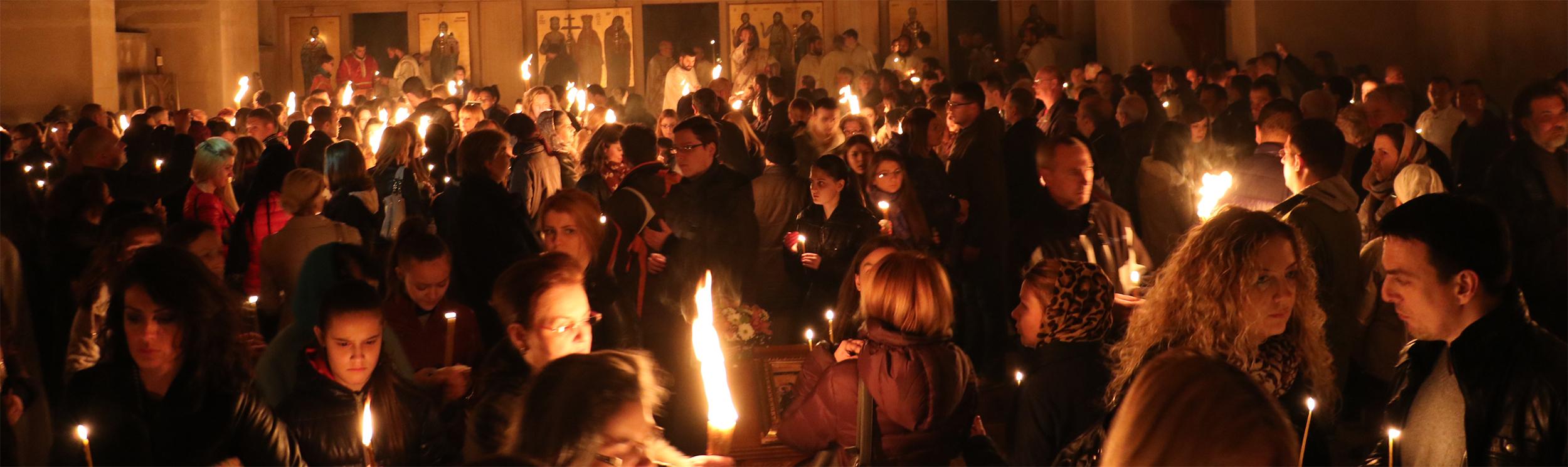 SVRLJIŠKA CRKVA: Ponoćna Litija na Veliki Petak