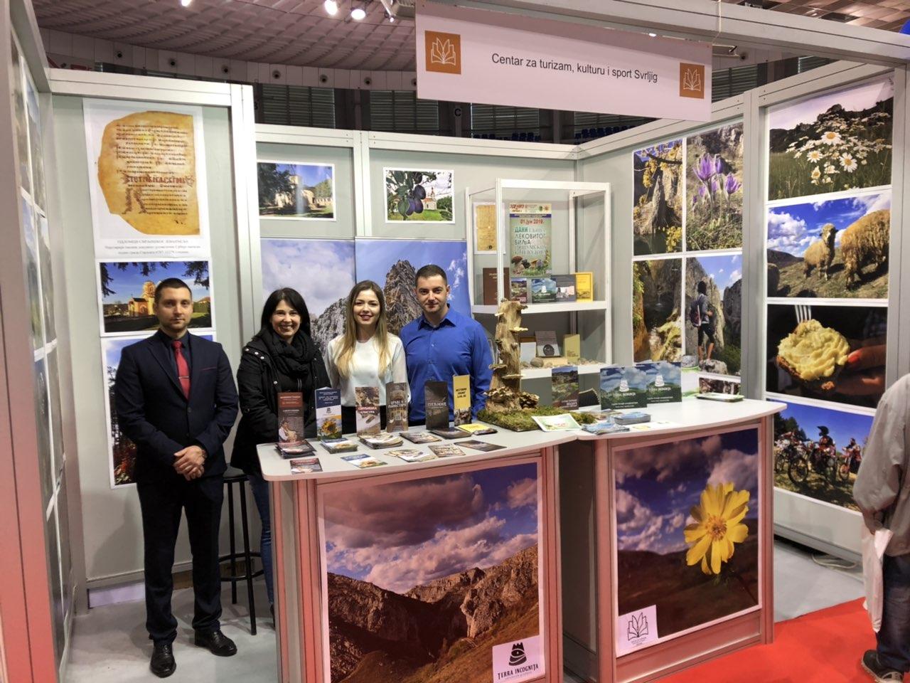 Centar za turizam, kulturu i sport na Međunarodnom sajmu turizma i aktivnog odmora