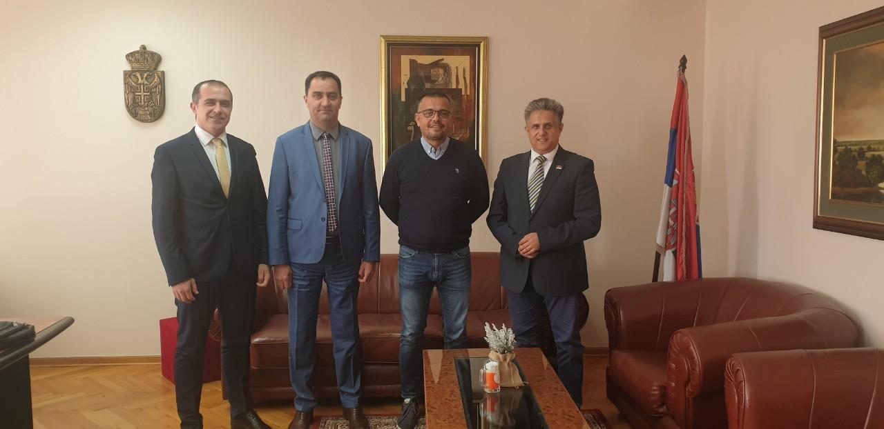 Susret Miletića sa ministrom poljoprivrede Branislavom Nedimovićem