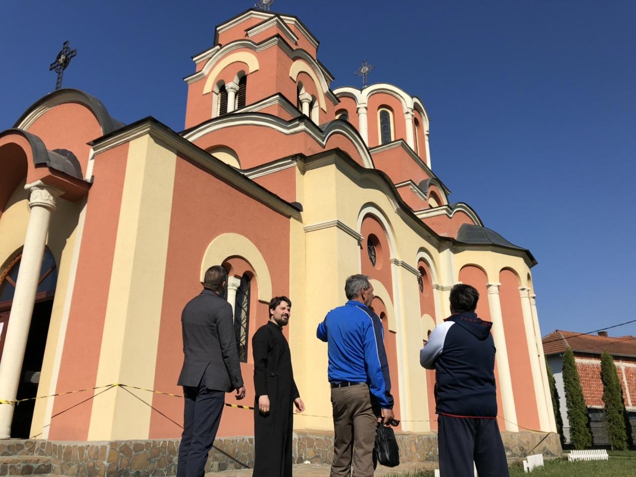 Poseta crkvi, foto: D. Miladinović