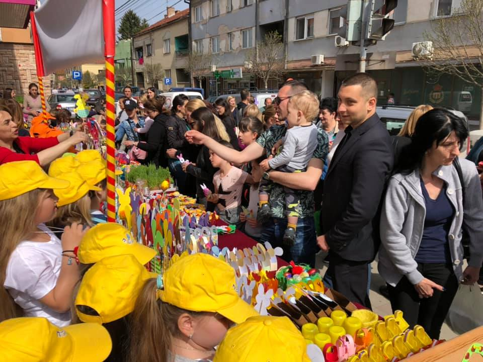 """Održana prodajna izložba uskršnjih radova dece iz PU ,,Poletarac"""""""