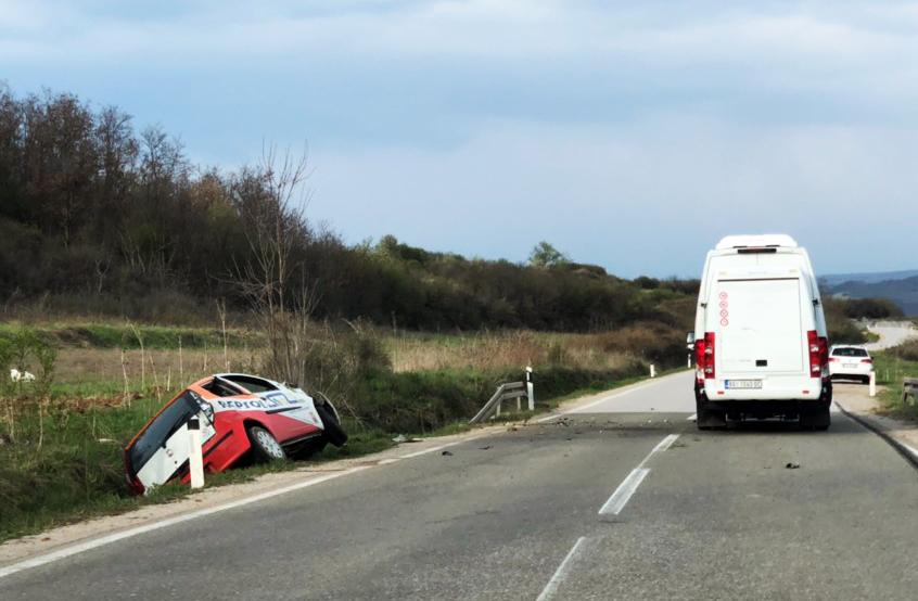 Saobraćajna nezgoda, foto: M. Miladinović