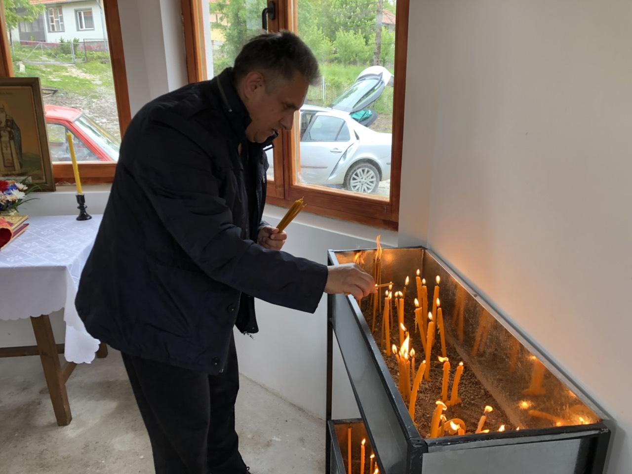 Narodni poslanik Milija Miletić, rođen u Plužini, foto: M.M.