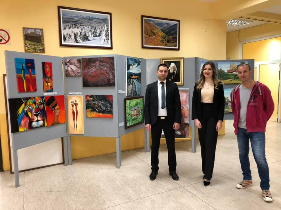 Izložba slika, foto: M. Miladinović