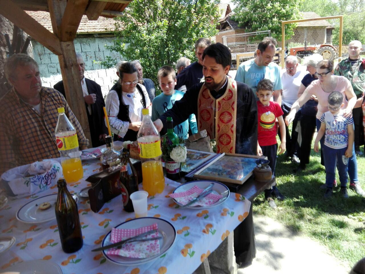 Slava u selu Merdželat, foto: N.M.