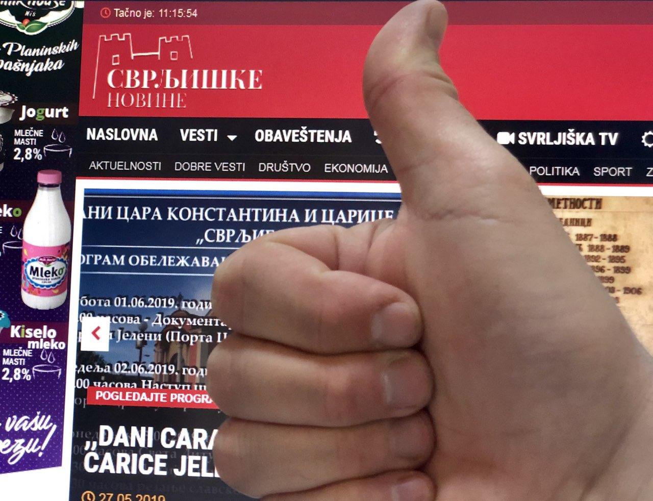 """Ove nedelje objave ,,Svrljiških novina"""" čitalo više od 10.500 ljudi"""