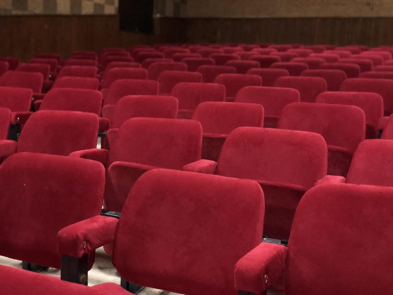 Bioskopska sedišta u Svrljigu, foto: M. Miladinović