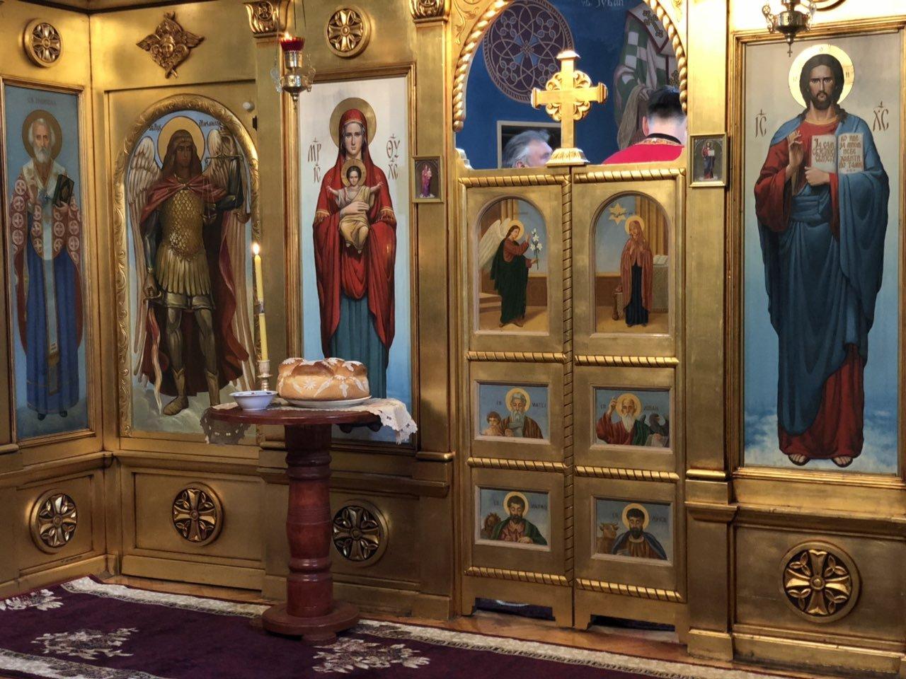 Služenje Svete Liturgije, foto: A.S.