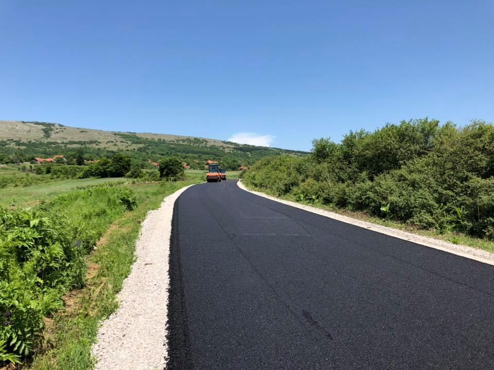 Asfaltiran put do Plužine u dužini od 1,1 km