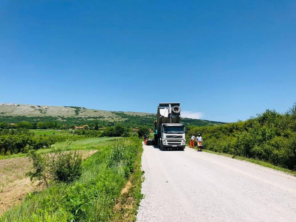 Pripreme za asfaltiranje, foto: M. Miladinović