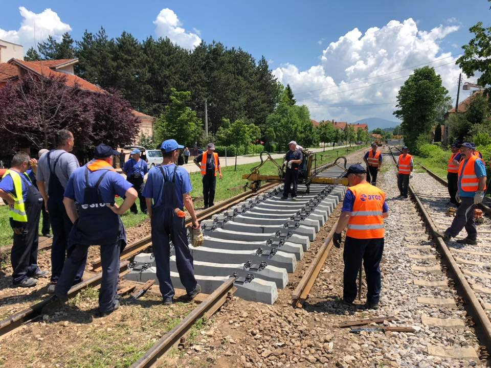Rekonstrukcija pruge, foto: M. M.