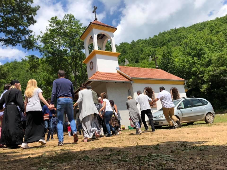 Vernici iz cele Srbije na obeležavanju Spasovdana u Labukovu kod Svrljiga