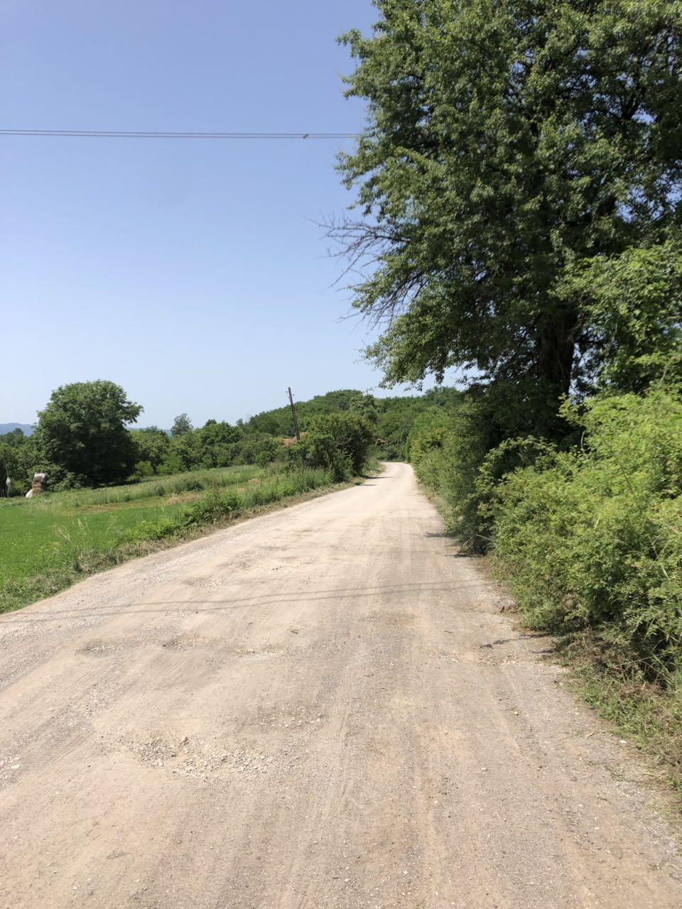 Pripremljen put za asfaltiranje od Željeva prema Izvoru
