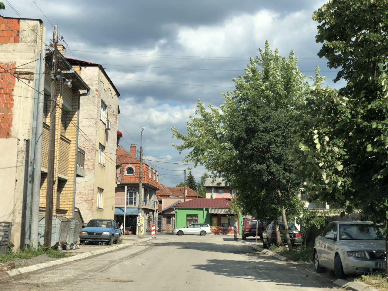 Caletova ulica, rekonstrukcija, foto: M.D.
