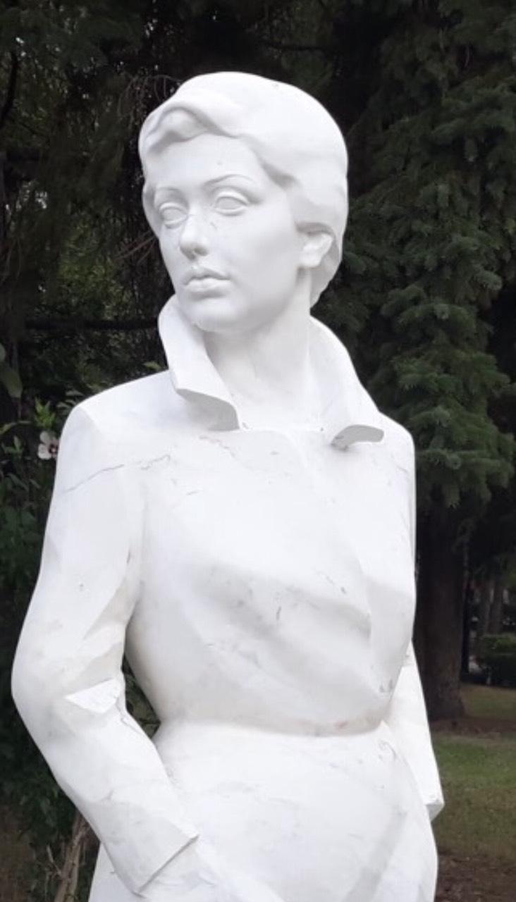 Postavljena statua Zlate Petković u gradskom parku 1
