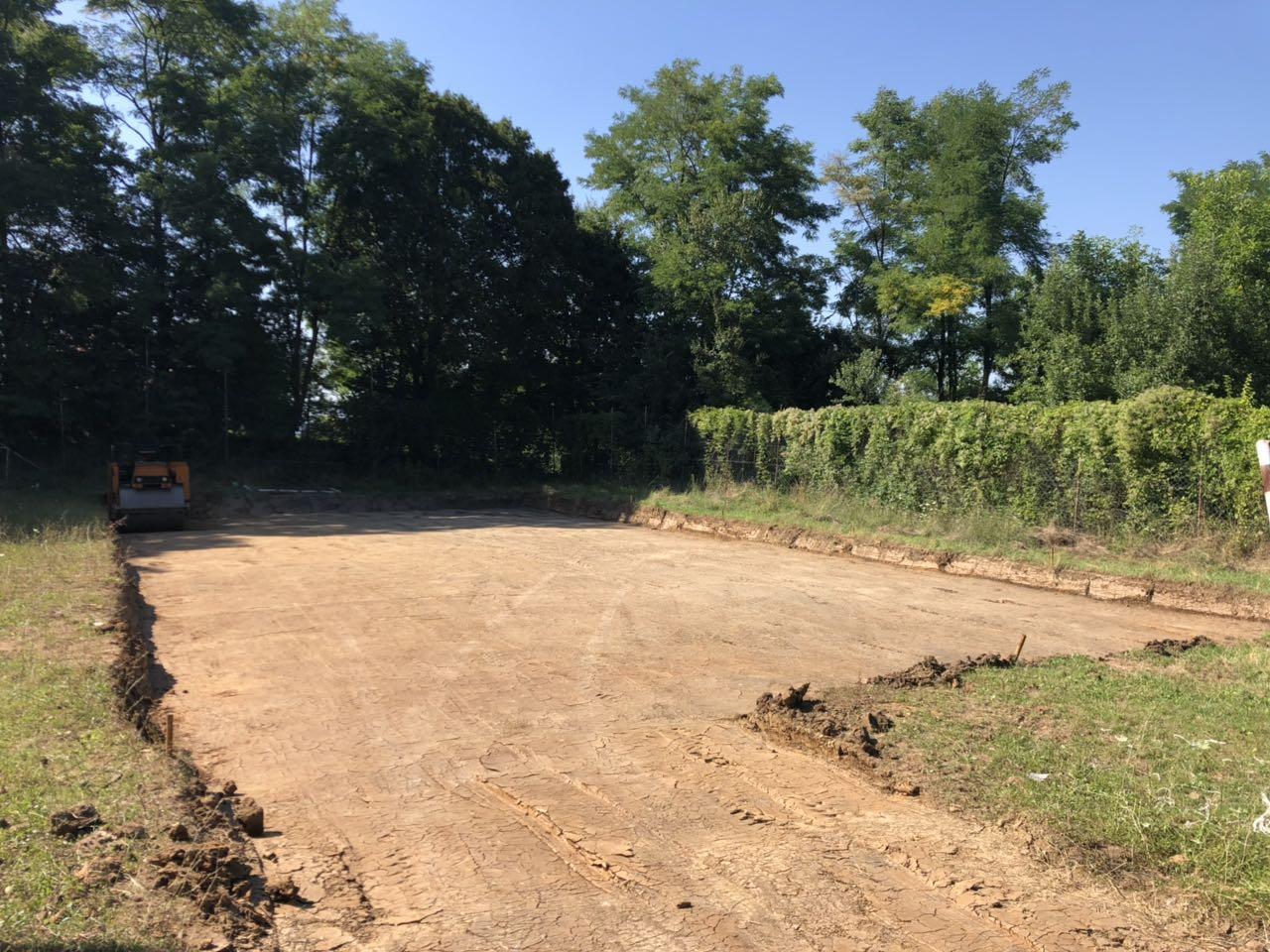 Počela izgradnja sportskog terena