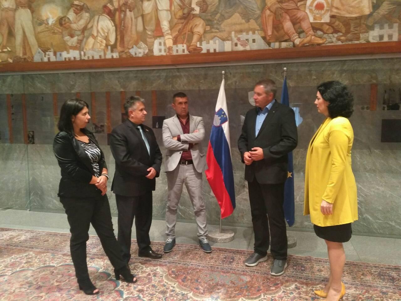 Sastanak u Državnom zboru Slovenije, foto: M.M.