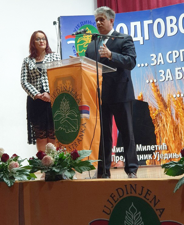 Marina Mijajilović i Milija Miletić, foto: M.M.