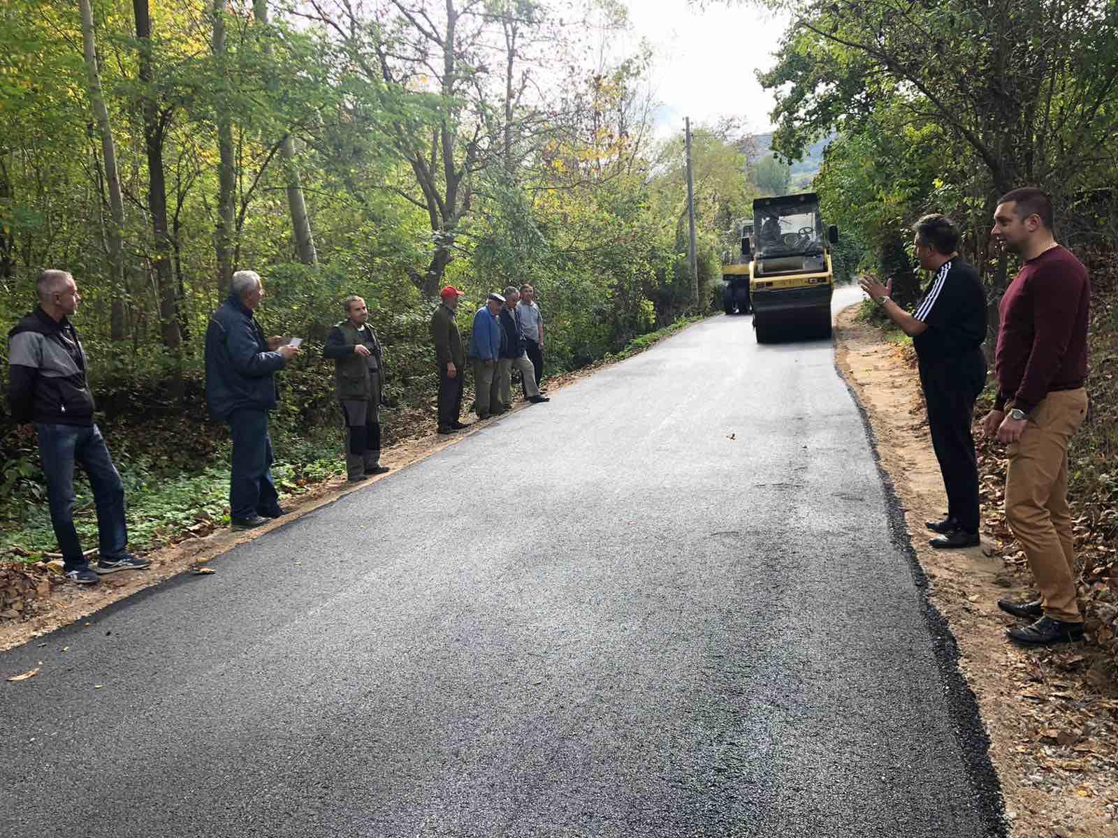 Selo Ribare dobija novi asfaltni put, foto: M. Miladinović