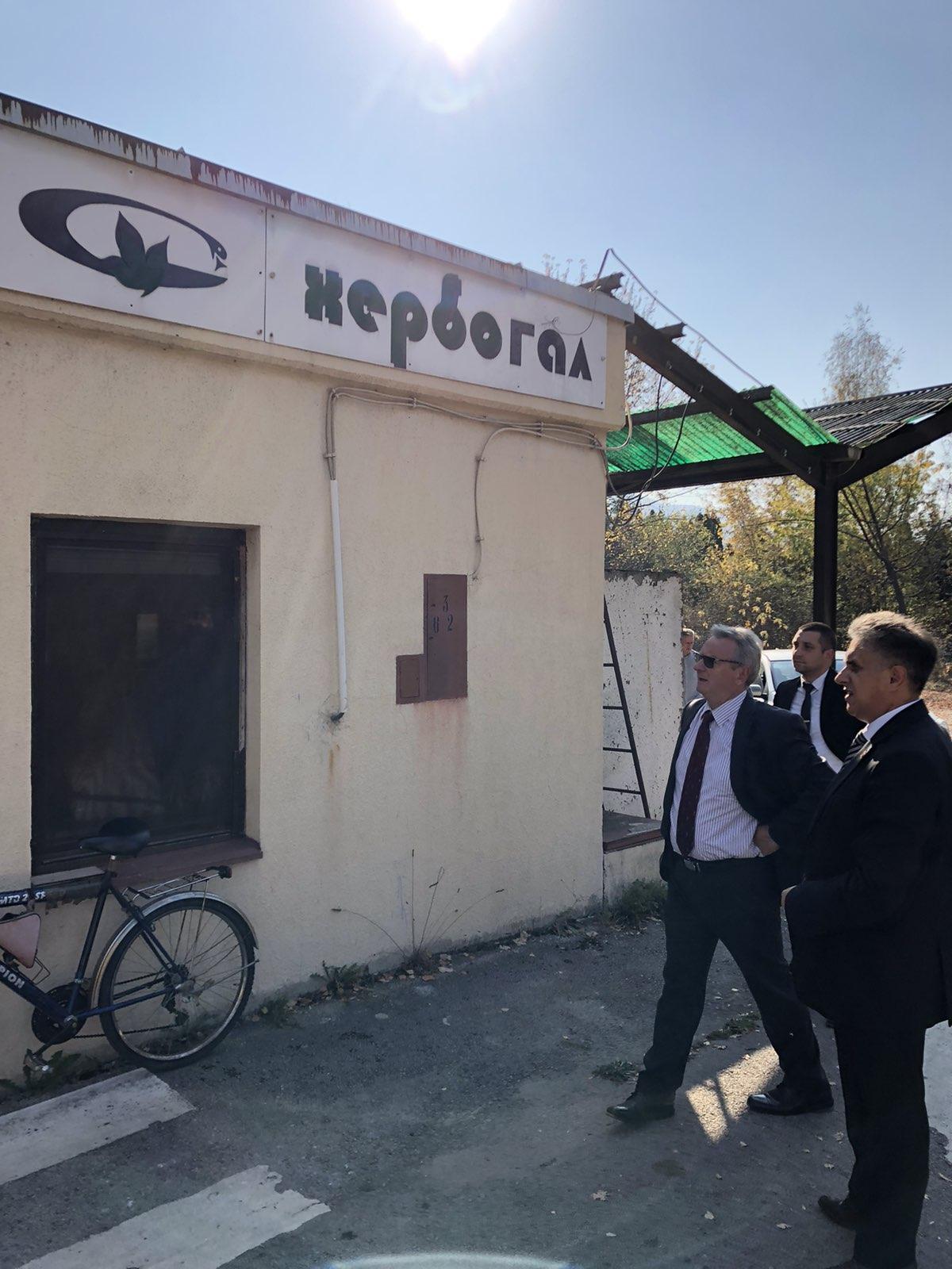 Miletić i Jarc obilaze ,,Krku'', foto: Marko Miladinović