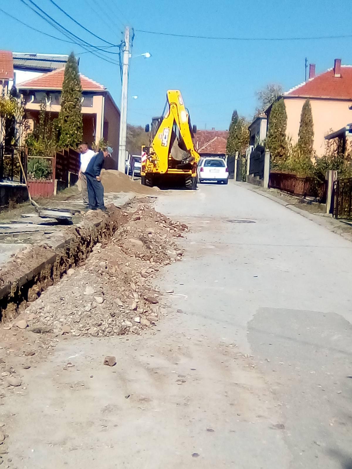 Radovi na rekonstrukciji vodovodne mreže, foto: L.T.