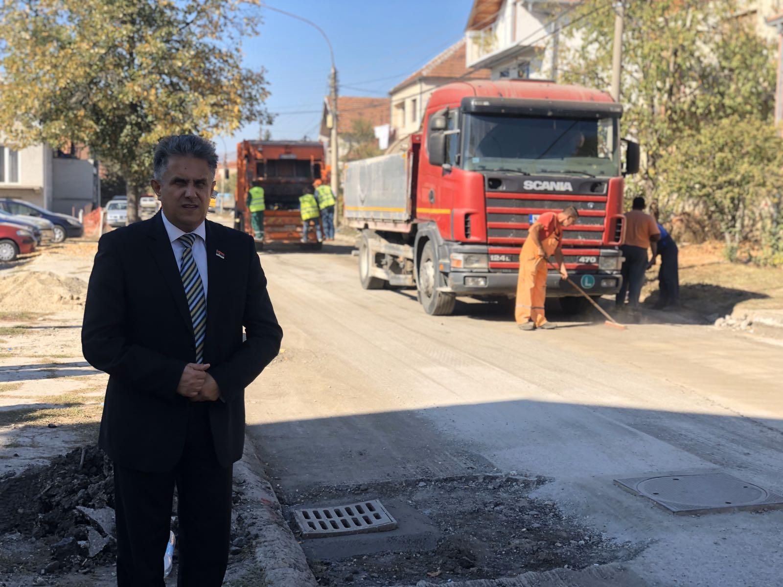 Miletić obišao radove, foto: D. Miladinović