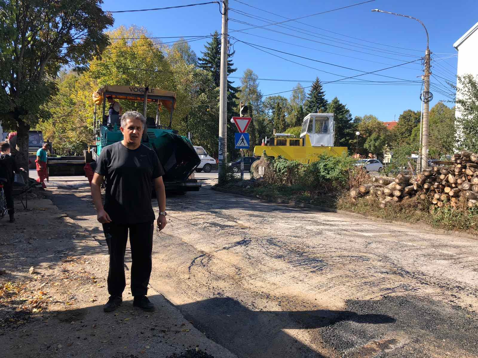 Narodni poslanik Milija Miletić obišao gradilište, foto: D.M.