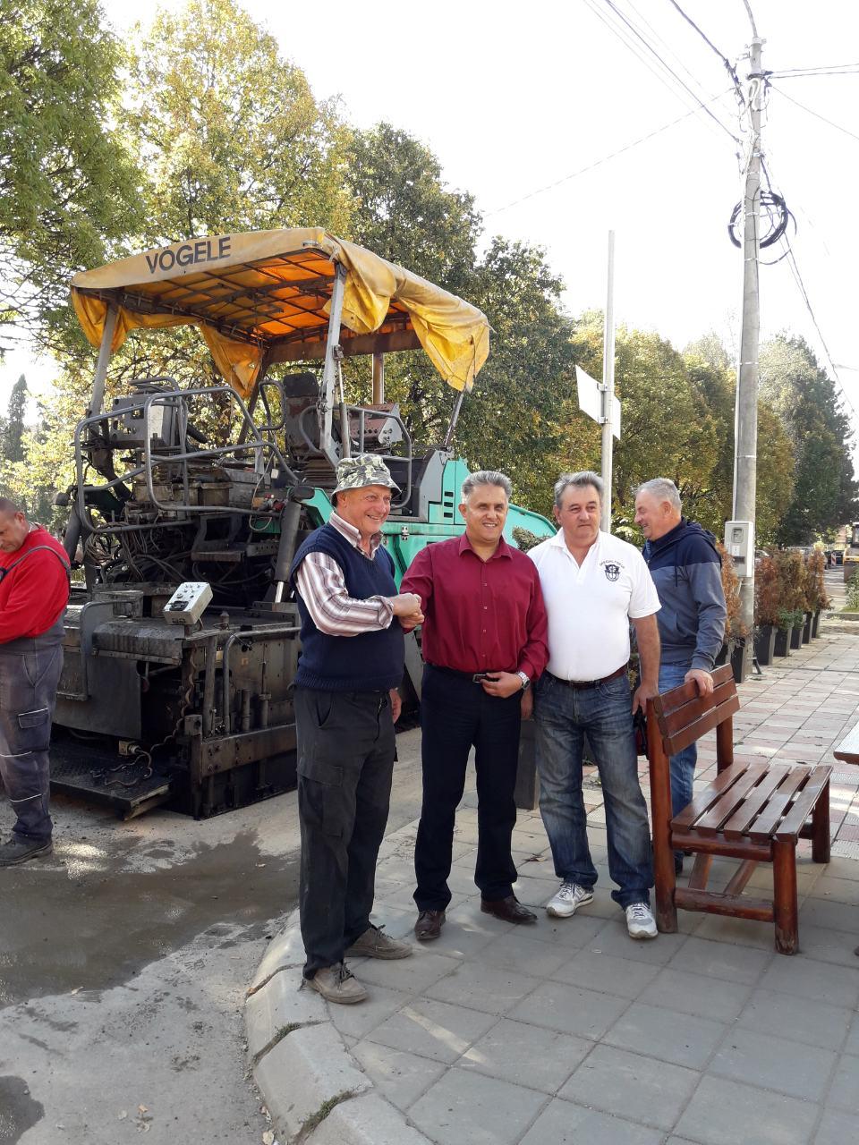 Miletić obišao gradilište, foto: M.M.