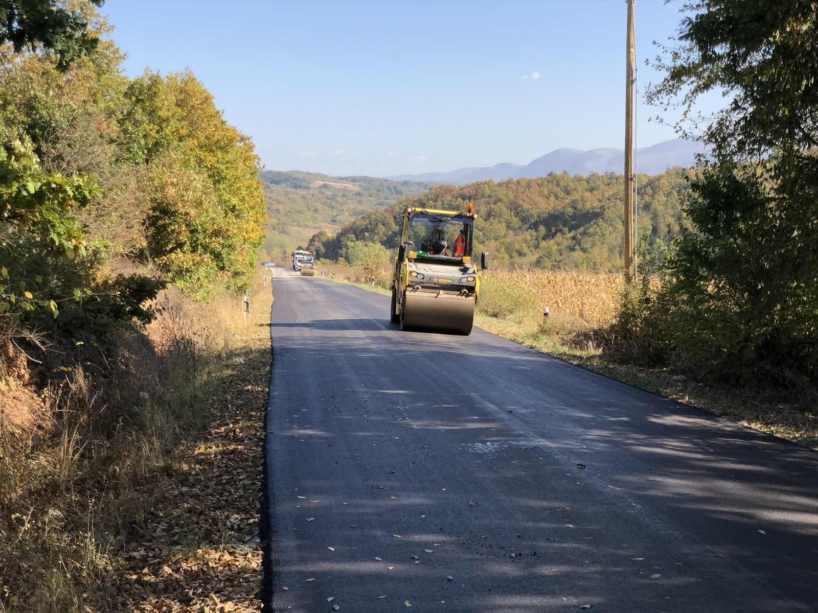 Radovi na putu prema Lalincu, foto: M.M.