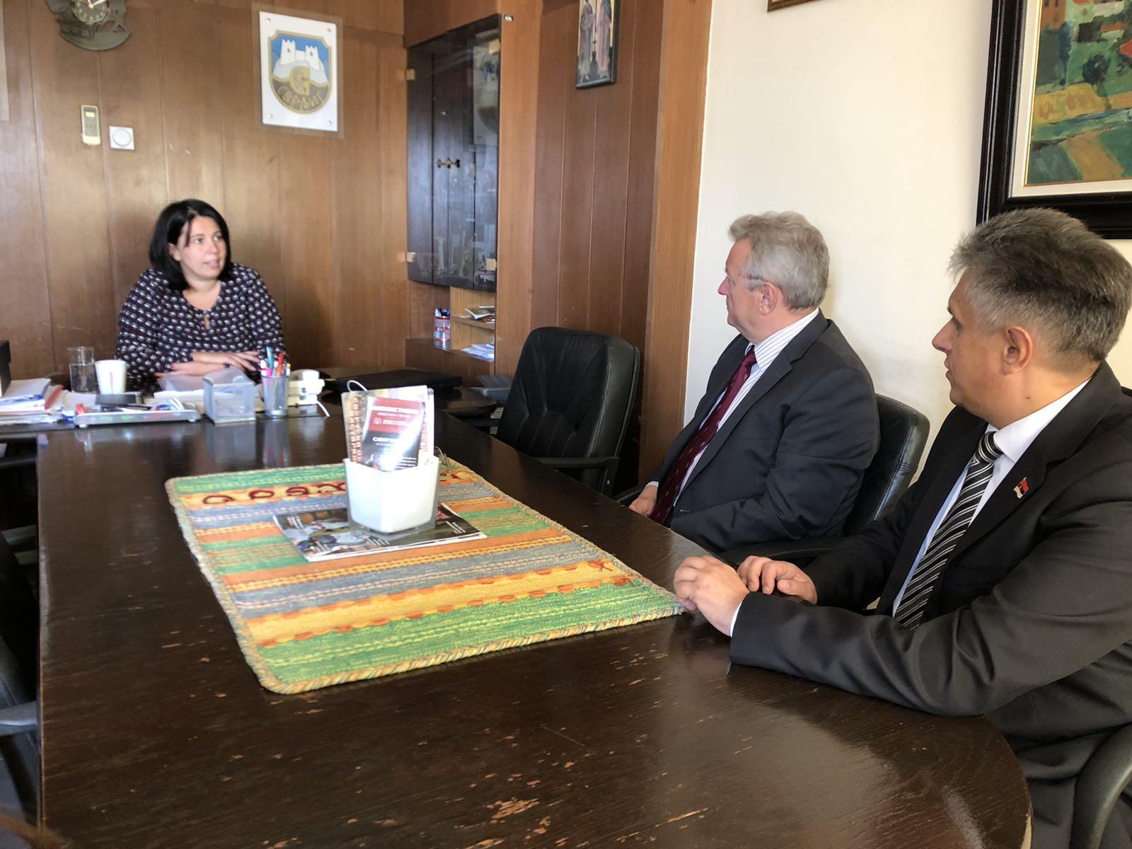Sastanak kod predsednice opštine, foto: M.M.