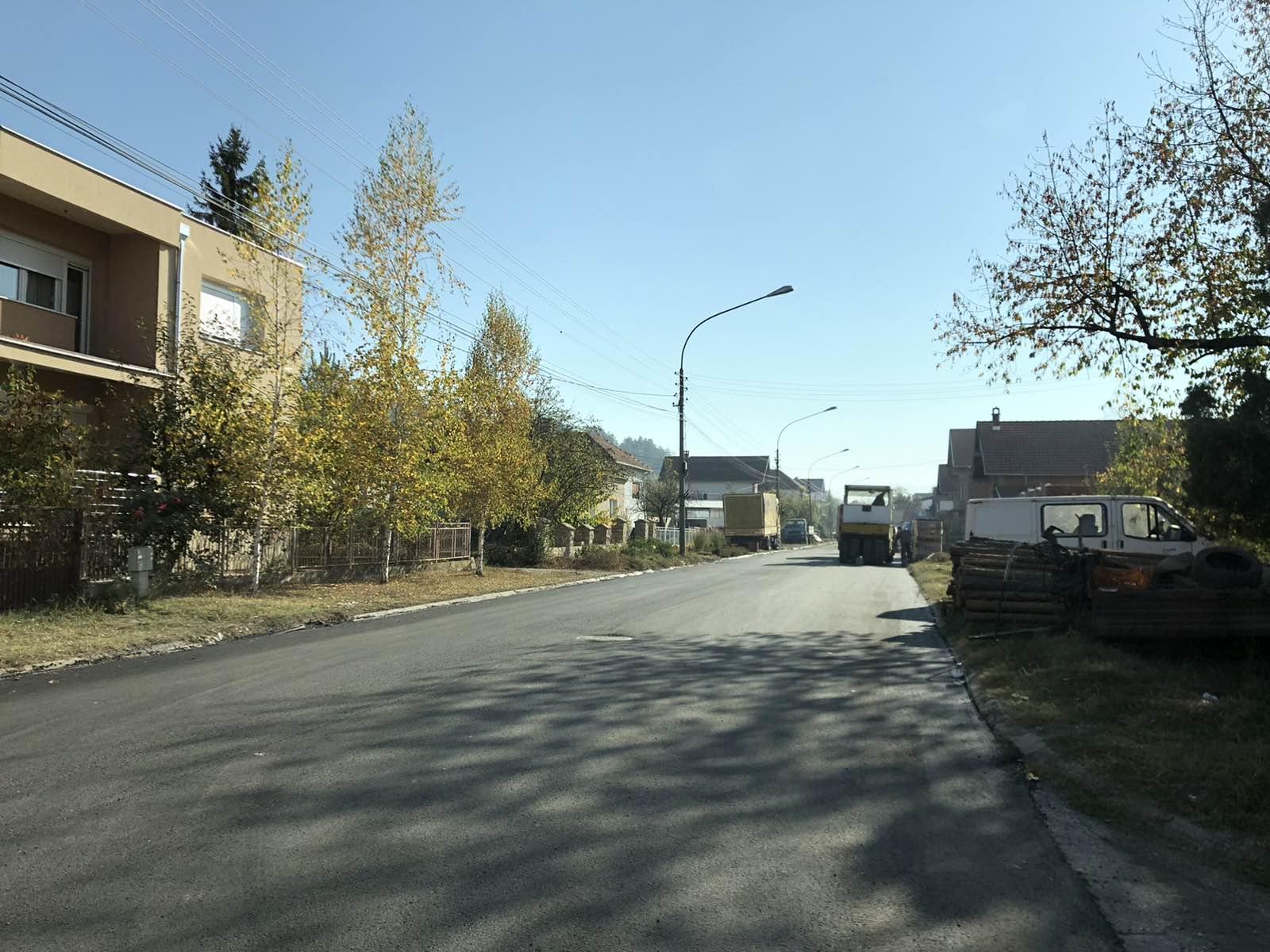 Asfaltiran deo ulice Stavre Partizana