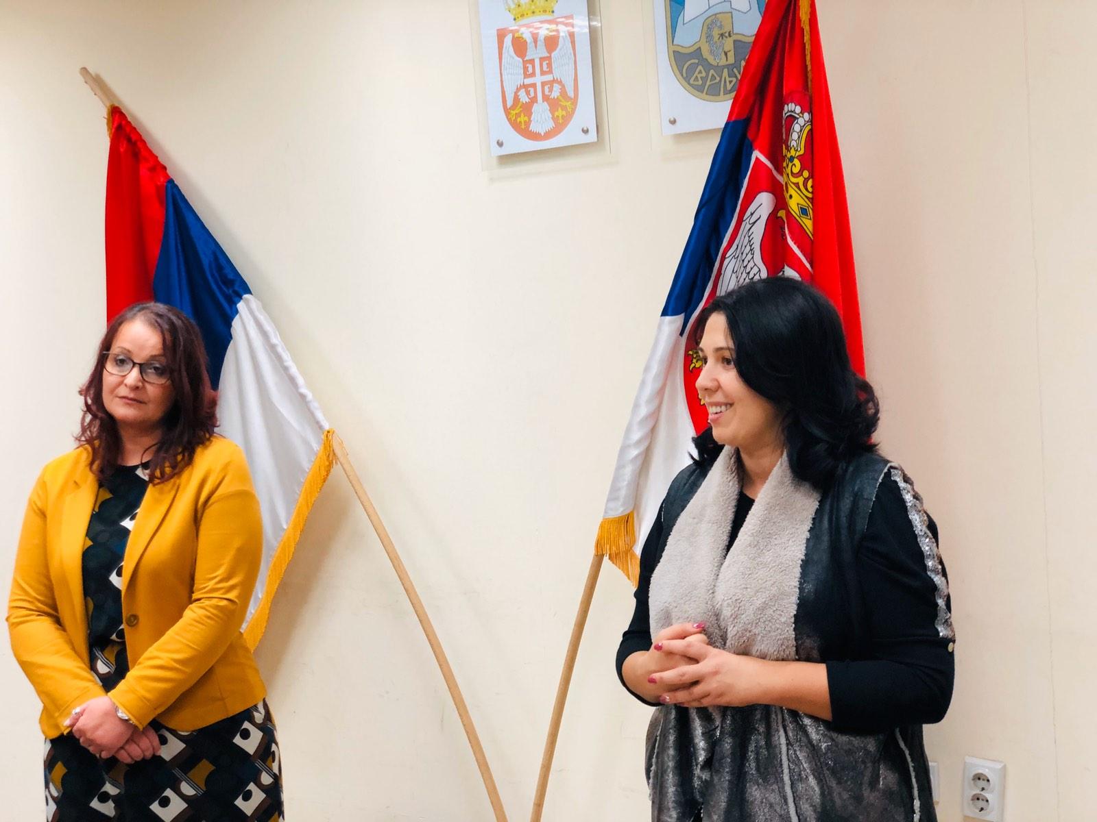 Marina Mijajilović i Jelena Trifunović, foto: M.M.