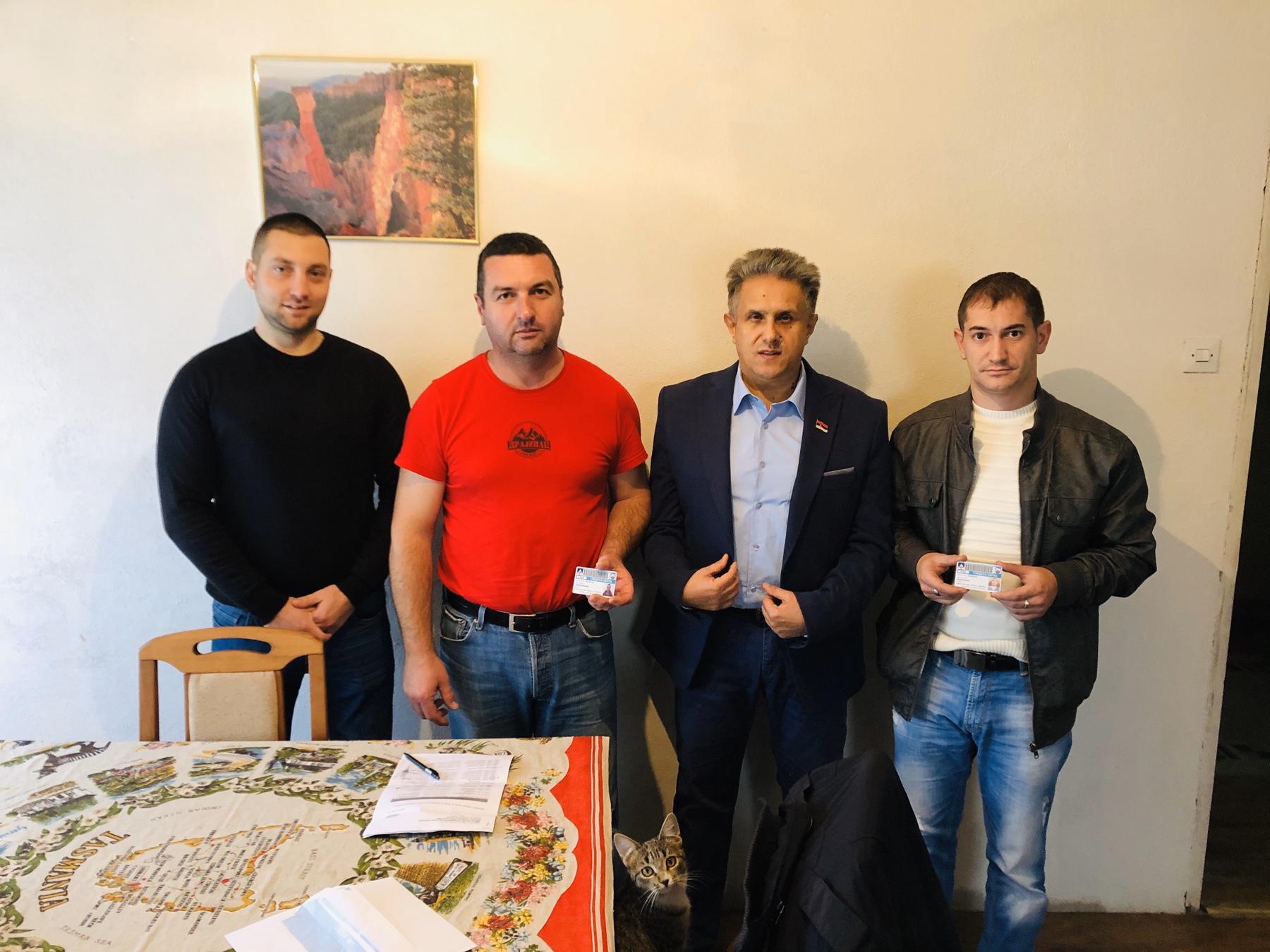 Miletić obišao meštane u Drajincu, foto: M.M.