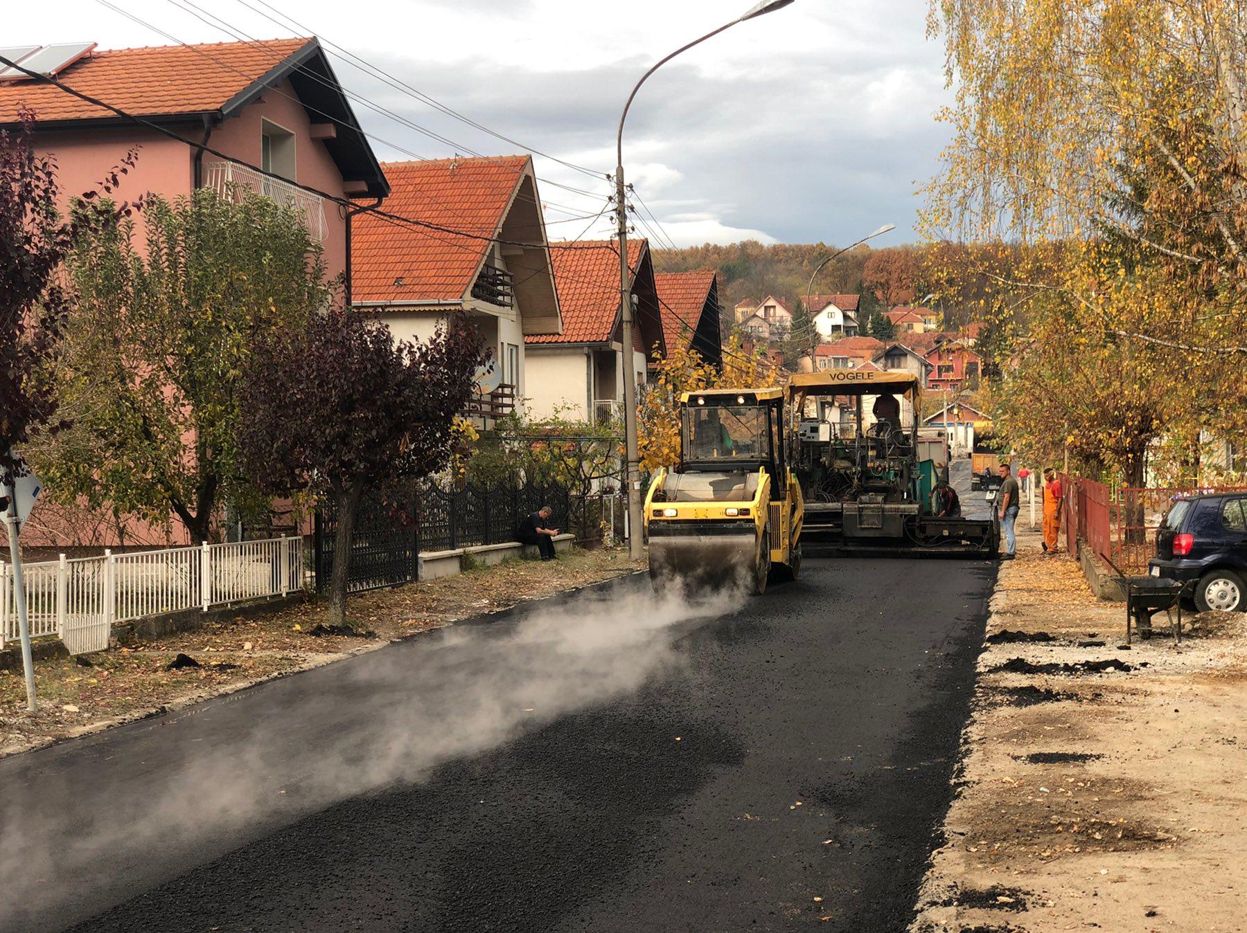 Rekonstruisana ulica Gordane Todorović