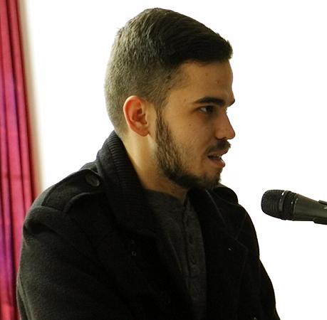 Vuk Milenković (student), foto: M. Miladinović