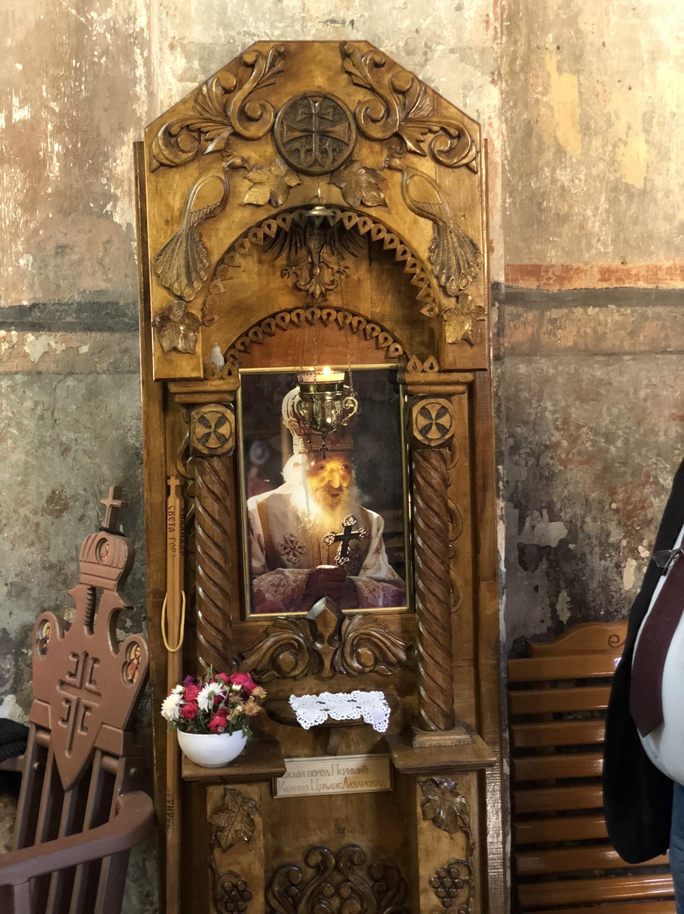 Ikona koja mirotoči u Pirkovcu, foto: D.M.