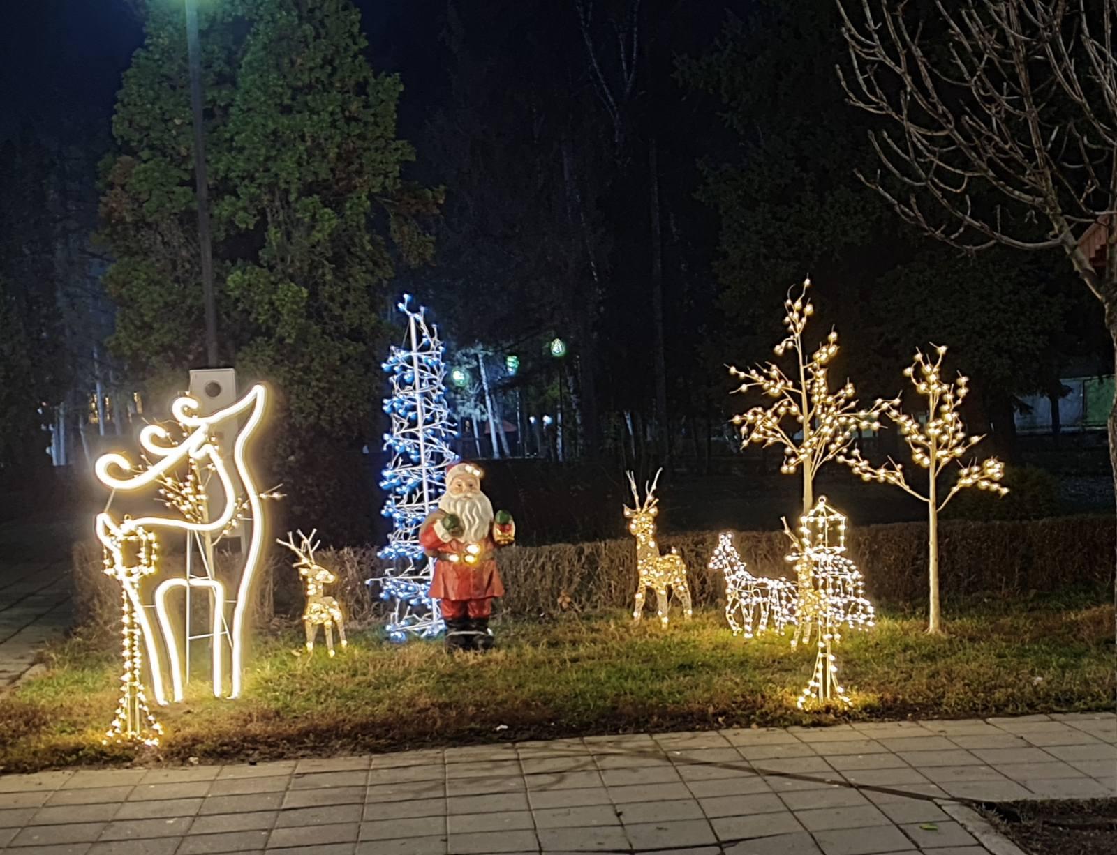 Novogodišnja rasveta, foto: M.M.