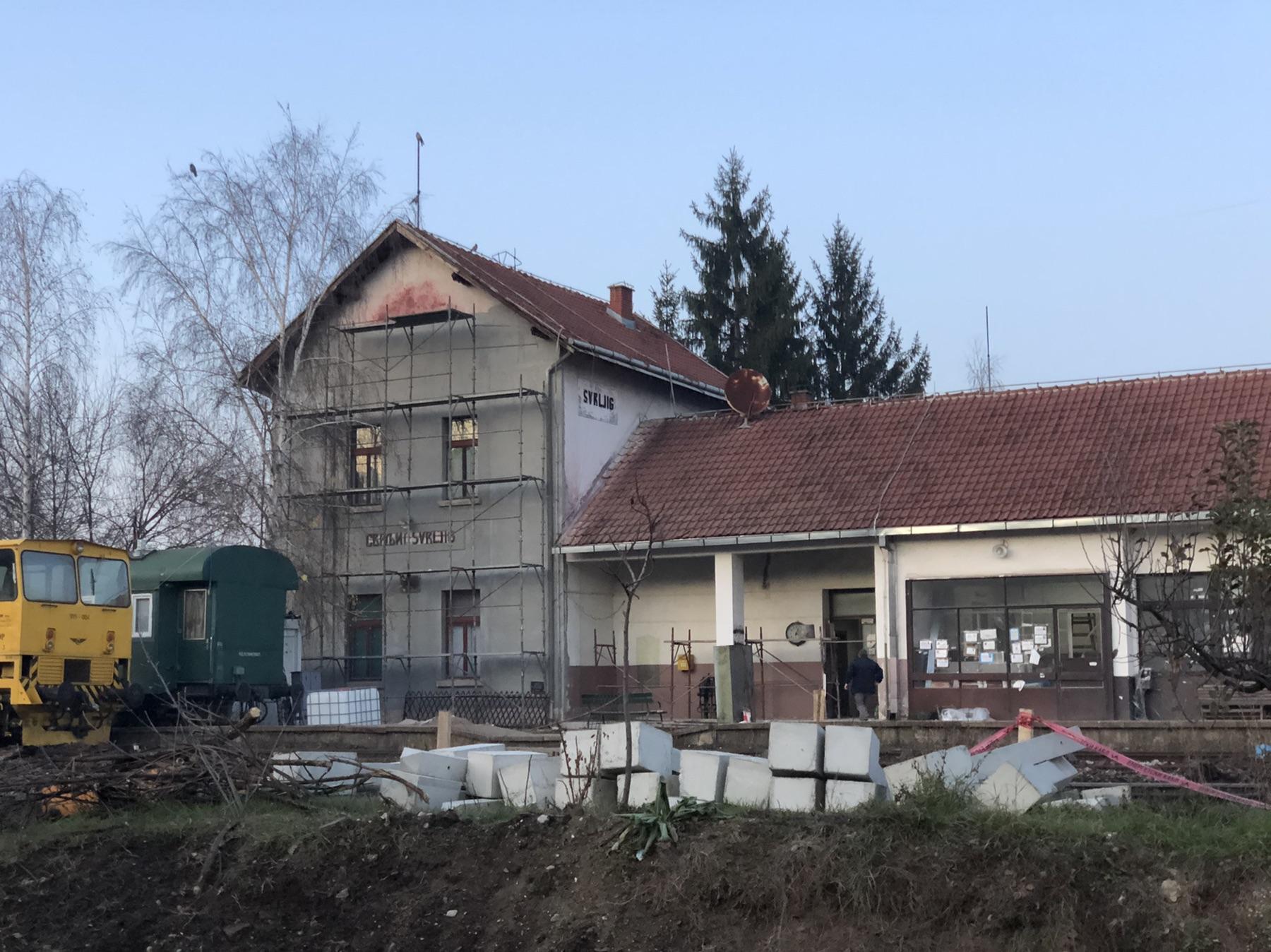Rekonstrukcija železničke stanice, foto: M.M.