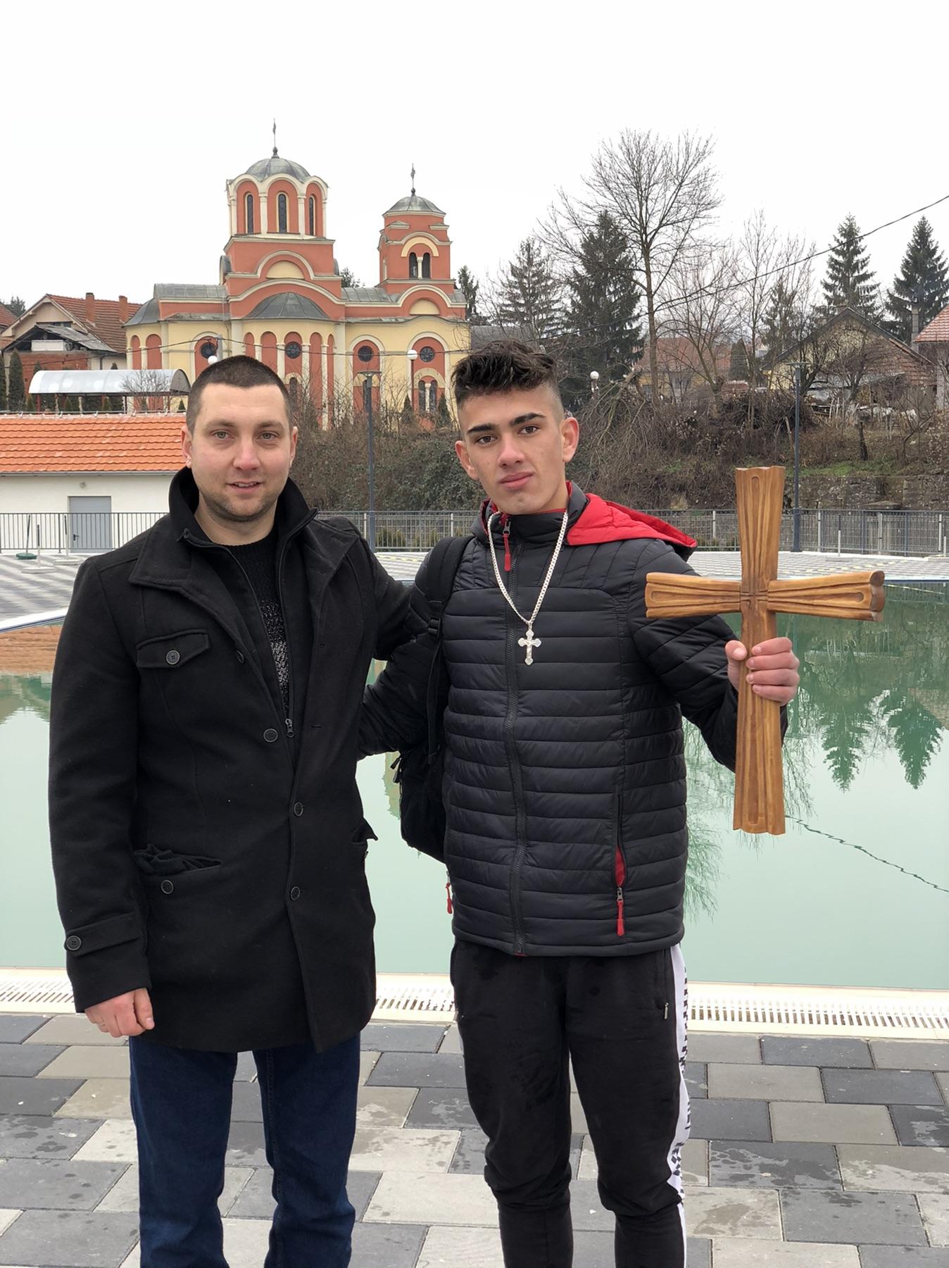 Marković i Macura, foto: M. Miladinović