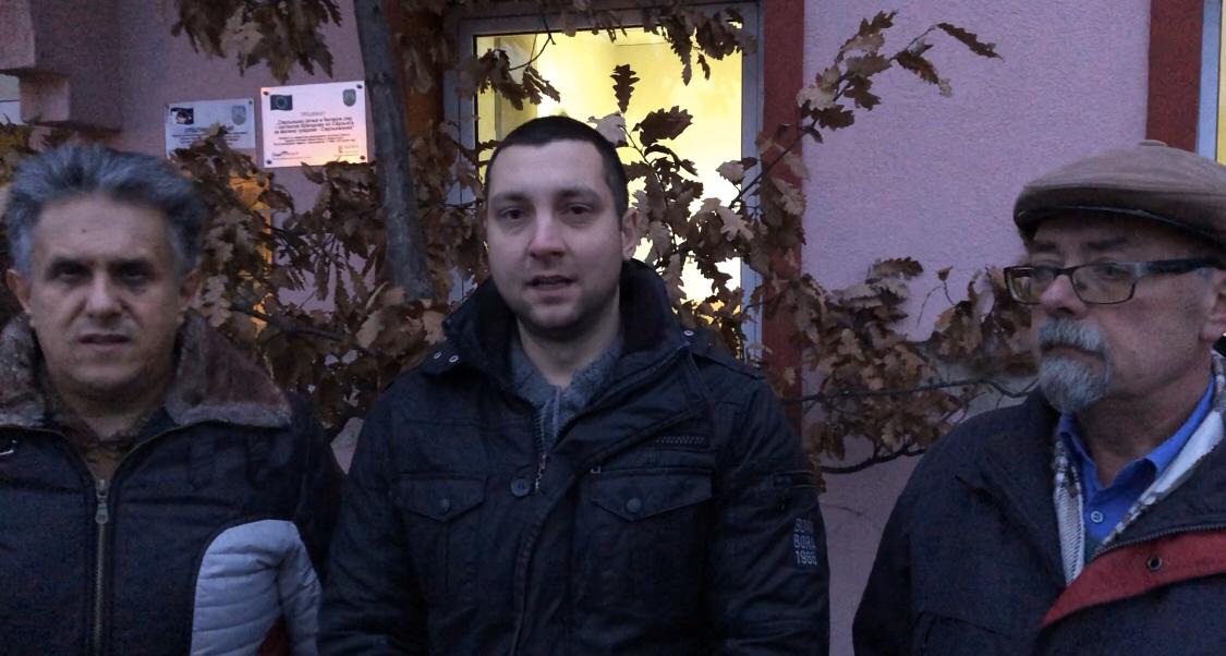 Miletić, Marković i Lazarević, foto: M.M.