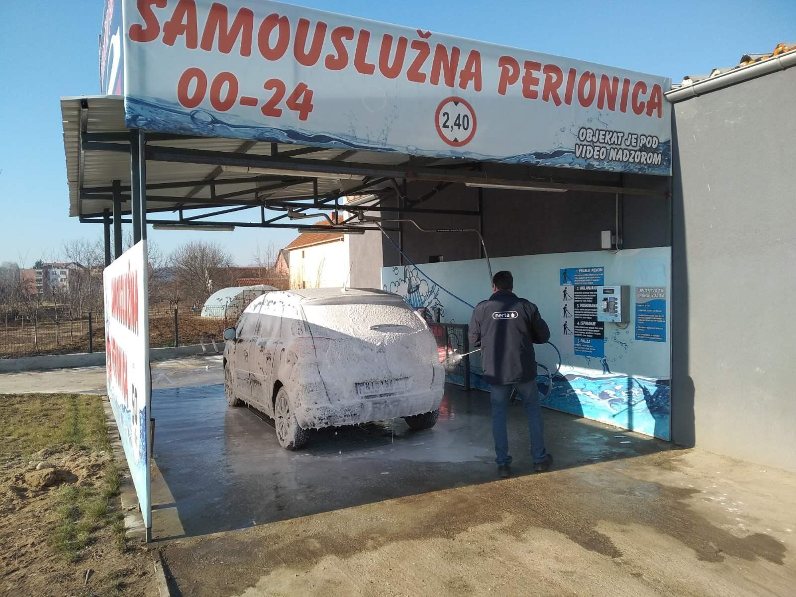 """AUTOPERIONICA ,,TIMOK"""": Svrljig prvi u regioni dobio aktivnu penu za pranje vozila!"""