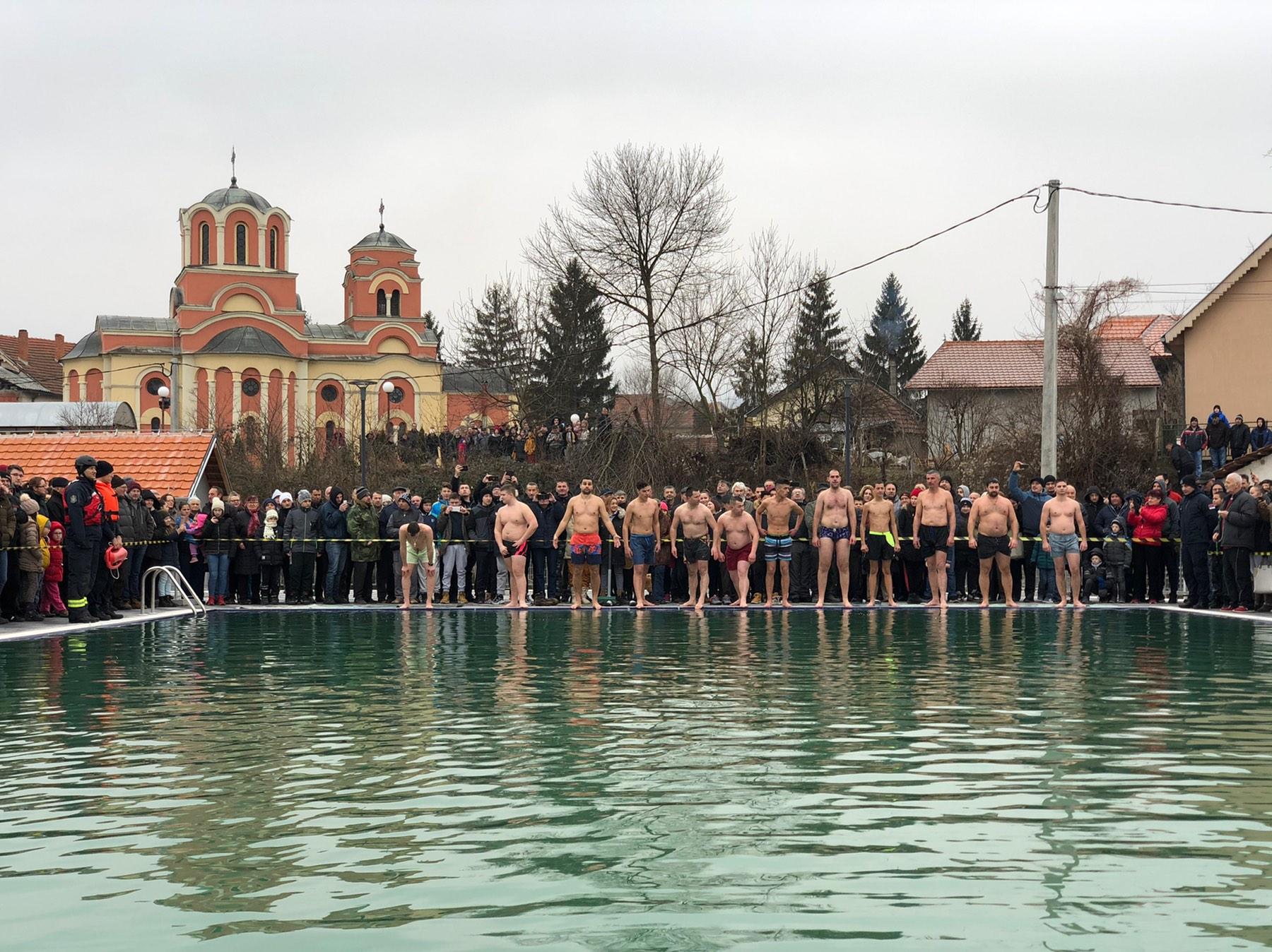Plivanje za Časni krst, foto: M. Miladinović
