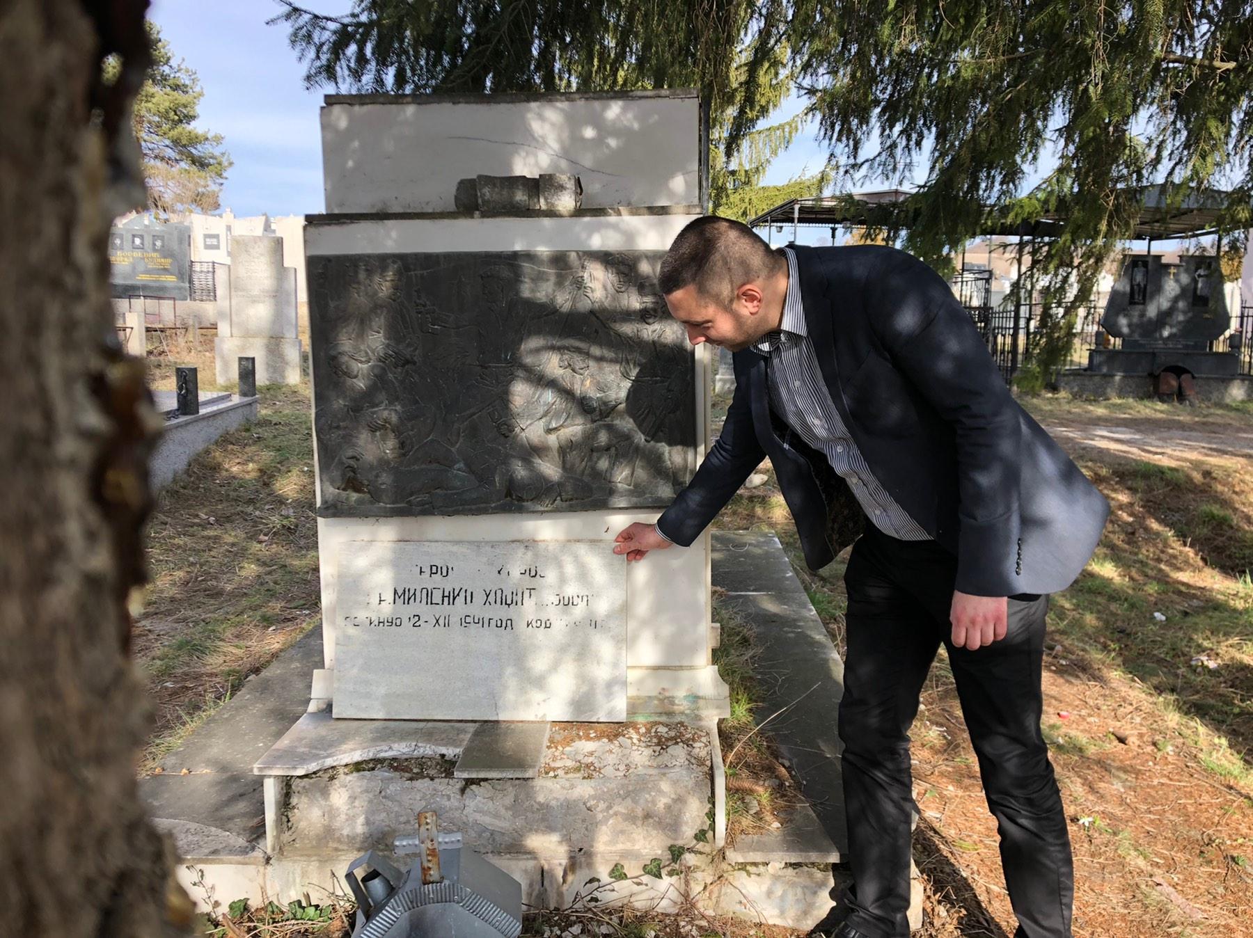 Marković obišao grob dr Milenka Hadžića
