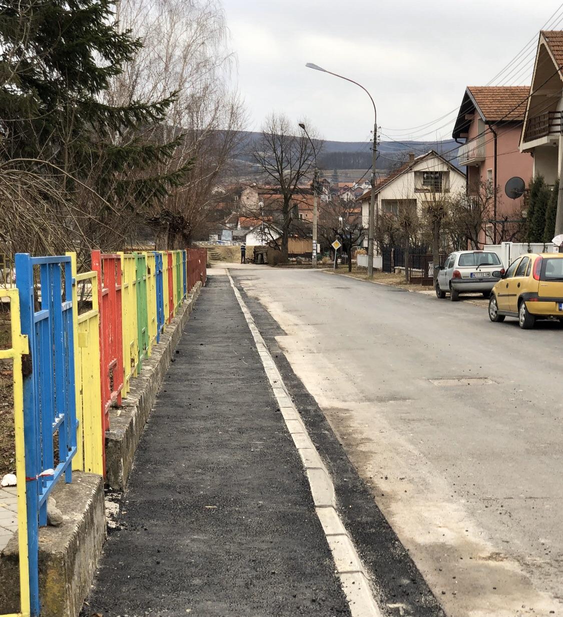 Trotoari u ulici Gordane Todorović, foto: M.M.