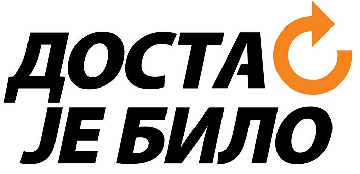 Dosta je bilo, logo